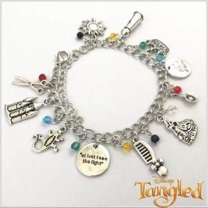 ARRIVED! Disney's Tangled Charm Bracelet